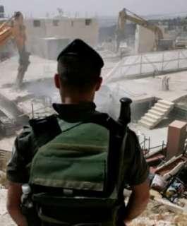 الاحتلال يدمر 59 منزلا ويشرد  59 مواطنا في الضفة الغربية خلال أسبوعين