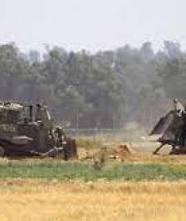 توغل  لأليات الاحتلال شرق خان يونس جنوب قطاع غزة