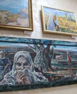 """""""فلسطين بعيون فناني روسيا التشكيليين"""".. معرض الفن التشكيلي الروسي الدولي الثاني"""