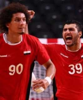 منتخب مصر لكرة اليد يتأهل لنصف نهائي  في أولمبياد طوكيو