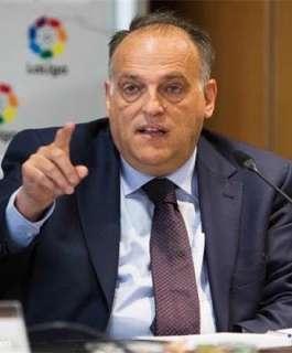 رئيس الدوري الاسباني يسخر من رحيل ليونيل ميسي للدوري الفرنسي
