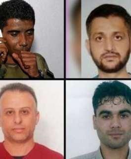 """محكمة الاحتلال ترفض طلب المحامين بزيارة أربعة من اسرى """"نفق الحرية""""  اعيد اعتقالهم"""