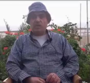 شاهد : الكفيف فضل وافي ابنه معالي يعملان في الزراعة من اجل لقمة العيش