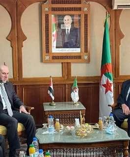 د. الهباش يلتقي  رئيس المجلس الإسلامي الأعلى في الجزائر